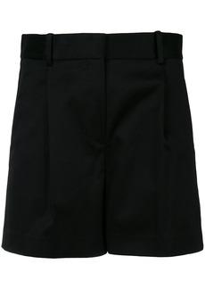 Theory high-waisted shorts - Black