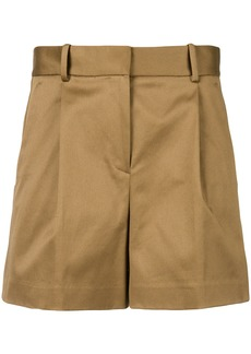 Theory high-waisted shorts - Nude & Neutrals