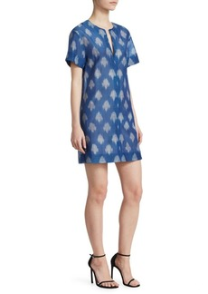 Theory Ikat Shift Dress