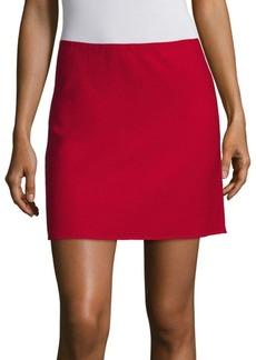 Theory Irenah Saxton A-Line Mini Skirt