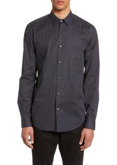 Theory Irving Alder Button-Up Sport Shirt