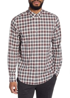 Theory Irving Betton Slim Fit Check Button-Up Shirt