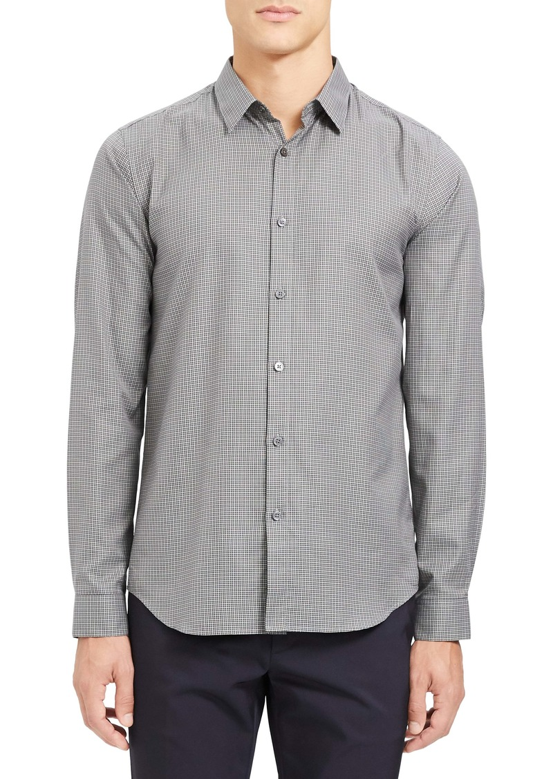 Theory Irving Bridge Slim Fit Button-Up Shirt