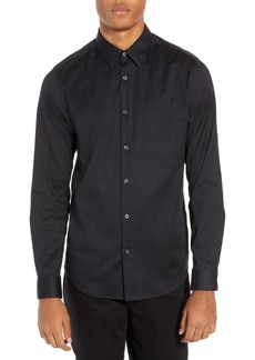 Theory Irving PA Mendon Solid Sport Shirt