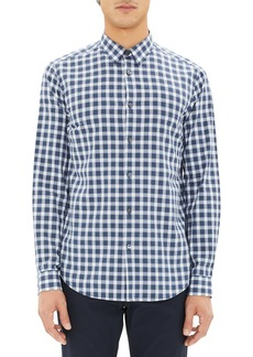Theory Irving Regular Fit Check Sport Shirt
