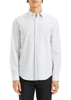 Theory Irving Slim Fit Stripe Sport Shirt