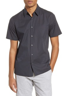 Theory Irving Short Sleeve Button-Up Shirt