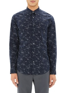 Theory Irving Trim Fit Print Sport Shirt