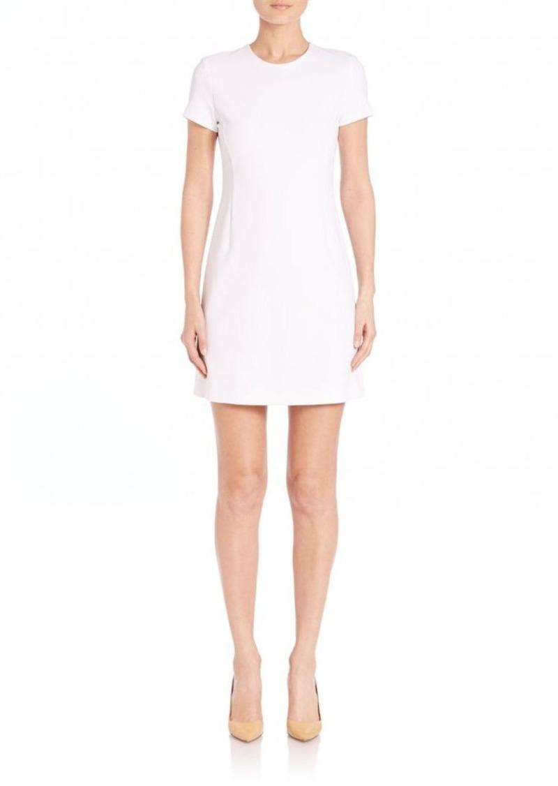 Theory Jatinn Knit Short-Sleeve Dress