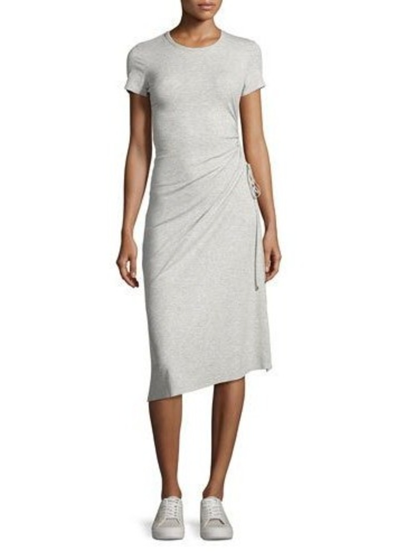 Theory Jilaena Ruched T-Shirt Dress
