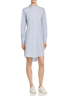 Theory Jodalee Taff Stripe Shirt Dress