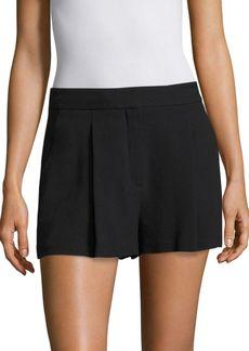 Theory Jolie Ruffled Mini Shorts