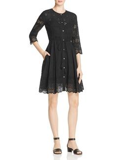 Theory Kalsingas Eyelet Lace Dress