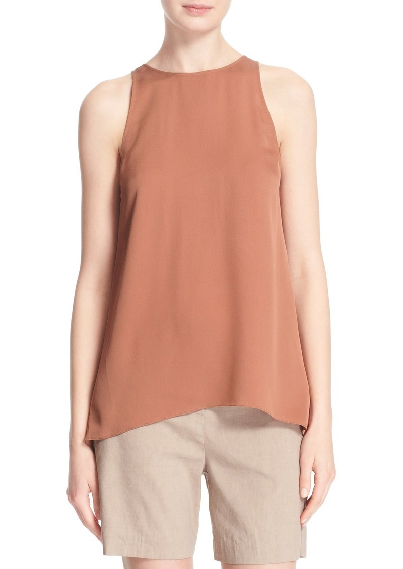 Theory 'Kalstinn' Sleeveless Silk Tank