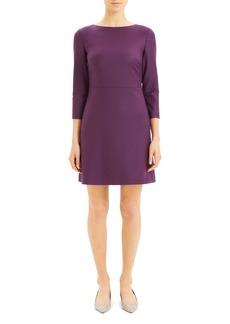 Theory Kamillina Long Sleeve Dress