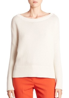 Theory Karenia Cotton Sweater
