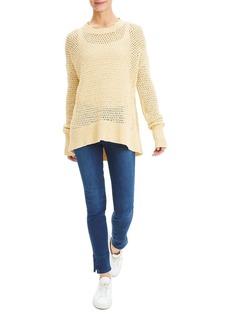 Theory Karenia Crochet Sweater