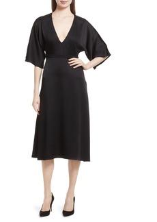 Theory Kensington Midi Dress