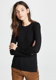 Theory Kralla Wool Long Sleeve Sweater