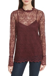 Theory Lace Top with Tank