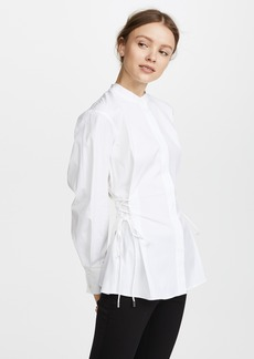 Theory Laced Button Down