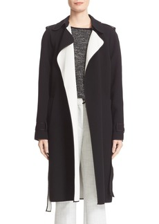 Theory Laurelwood Single Breasted Wrap Coat