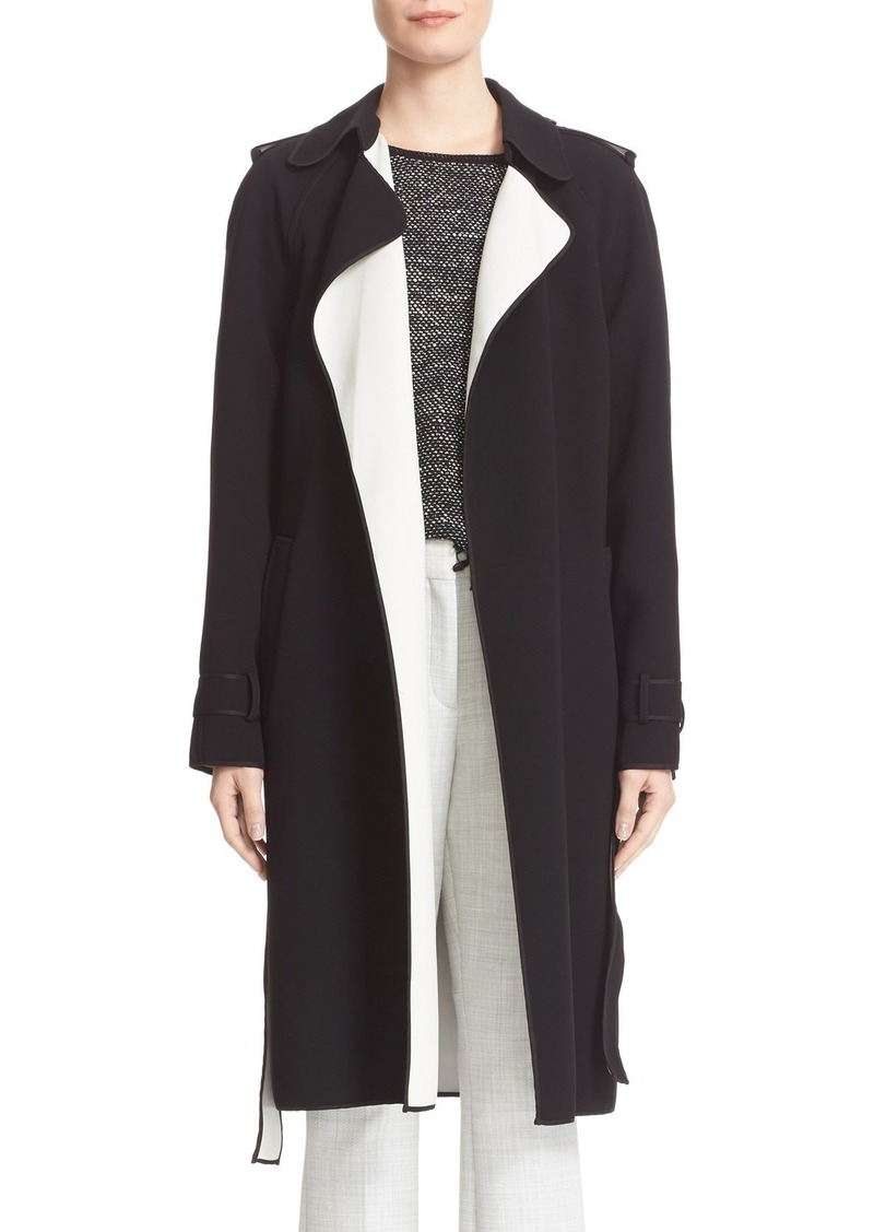 93ca0af6d3 Theory Theory Laurelwood Single Breasted Wrap Coat | Outerwear