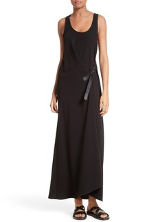 Theory Lauressa Elevate Crepe Maxi Dress