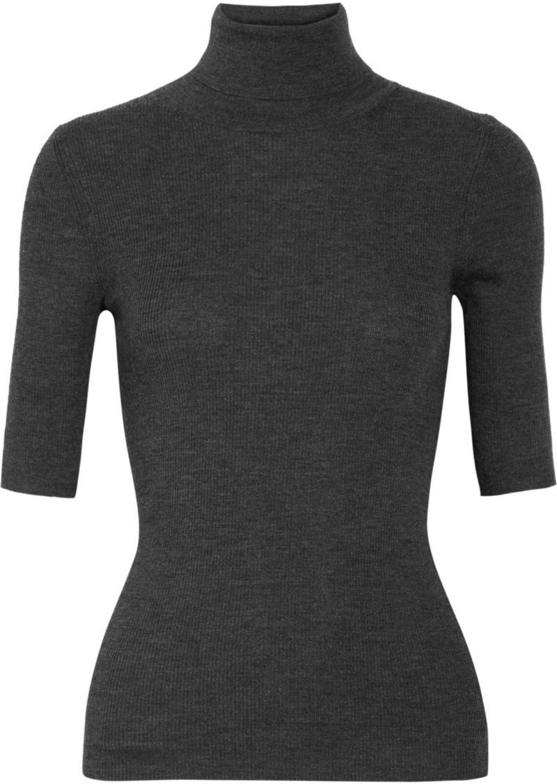 0c1d1cd630702 Theory Leenda Ribbed Merino Wool Turtleneck Sweater Now  133.00