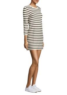 Theory Lemdrella Prosecco Striped Shift Dress