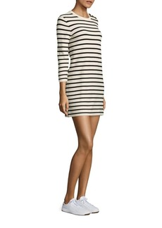 Theory Lemdrella Prosecco Striped Shift Dress