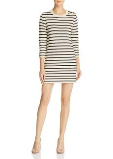 Theory Lemdrella Striped Dress
