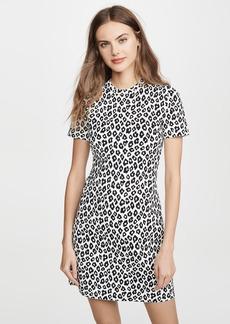 Theory Leopard Tee Dress