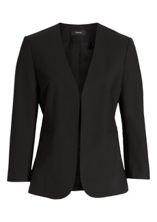 Theory Lindrayia B Good Wool Suit Jacket (Nordstrom Exclusive)