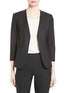 Theory Lindrayia B Stretch Wool Jacket (Nordstrom Exclusive)