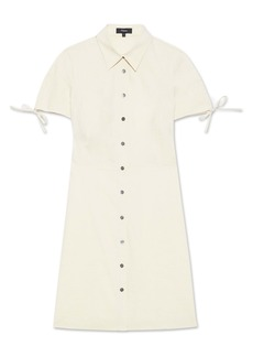 Theory Linen Blend Shirtdress