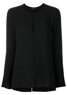 Theory long sleeve blouse - Black