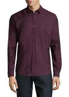Theory Long Sleeve Button-Down Shirt