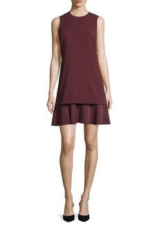 Theory Malkan Layered Sleeveless Dress