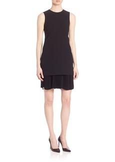 Theory Malkan Winslow Crepe Dress