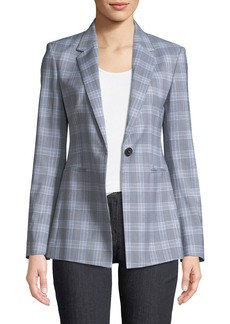 Theory Maple Check 2 Power Jacket