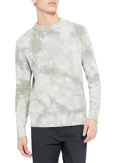 Theory Masten Eco Brea Tie Dye Crewneck Sweater