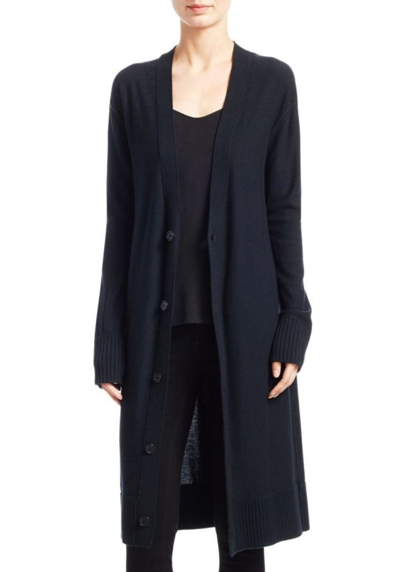 Theory Theory Maxi V-Neck Wool Cardigan | Sweaters - Shop It To Me