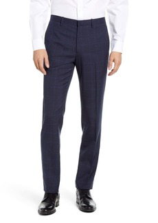 Theory Mayer Kardova Plaid Wool Dress Pants
