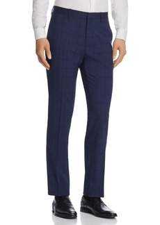 Theory Mayer Windowpane Slim Fit Suit Pants - 100% Exclusive