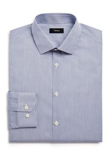 Theory Medium Stripe Slim Fit Dress Shirt - 100% Exclusive