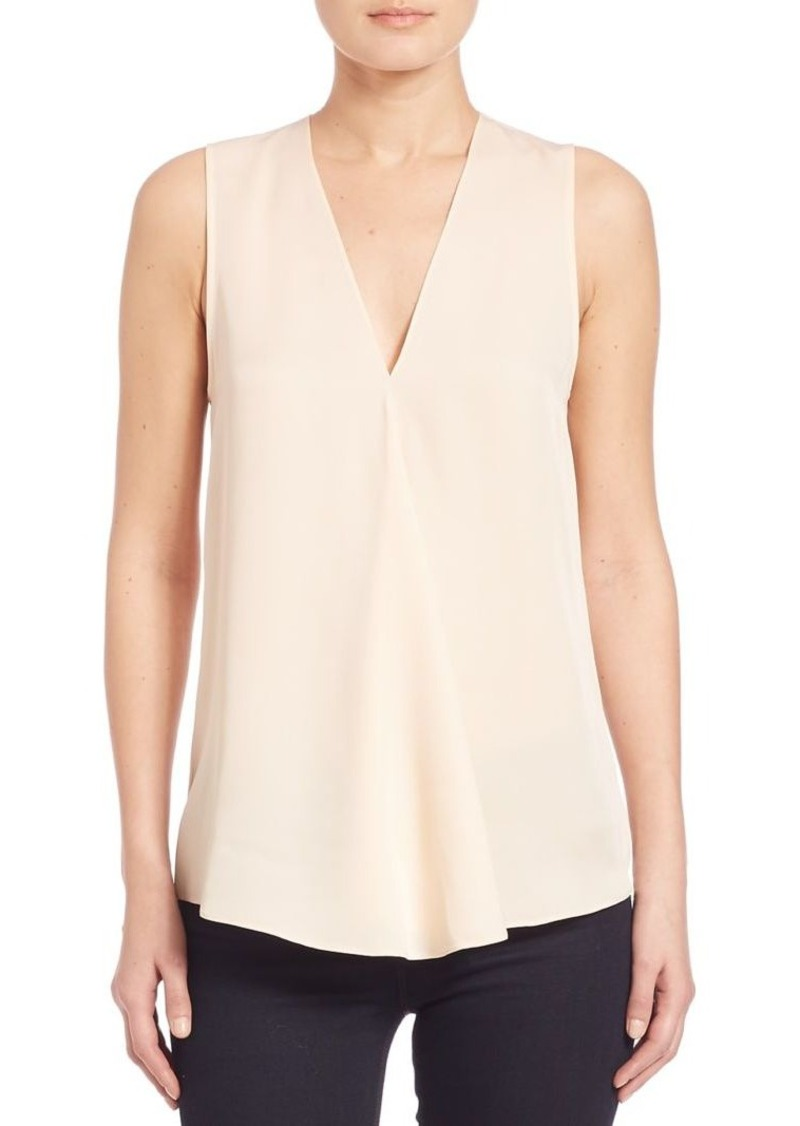 Theory Meighlan Silk Blouse