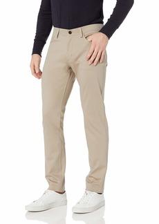 Theory Men's 5 Pocket Stretch Ponte Pant bark