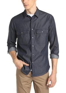 Theory Men's Barham C Turini Chambray Button-Down Shirt