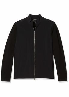 Theory Men's Belvill Cotton Blend Full Zip Cardigan Sweater  M